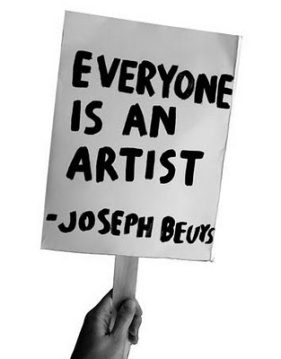 every one is an artist