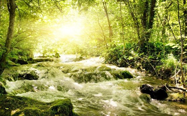 fiume che scorre 1
